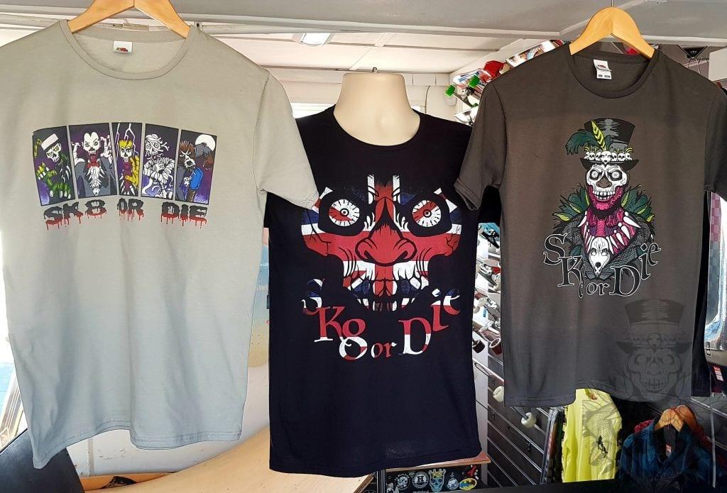 Sk8 or Die T-shirts