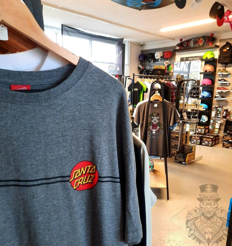 Santa Cruz Apparel Skate Clothing Portishead