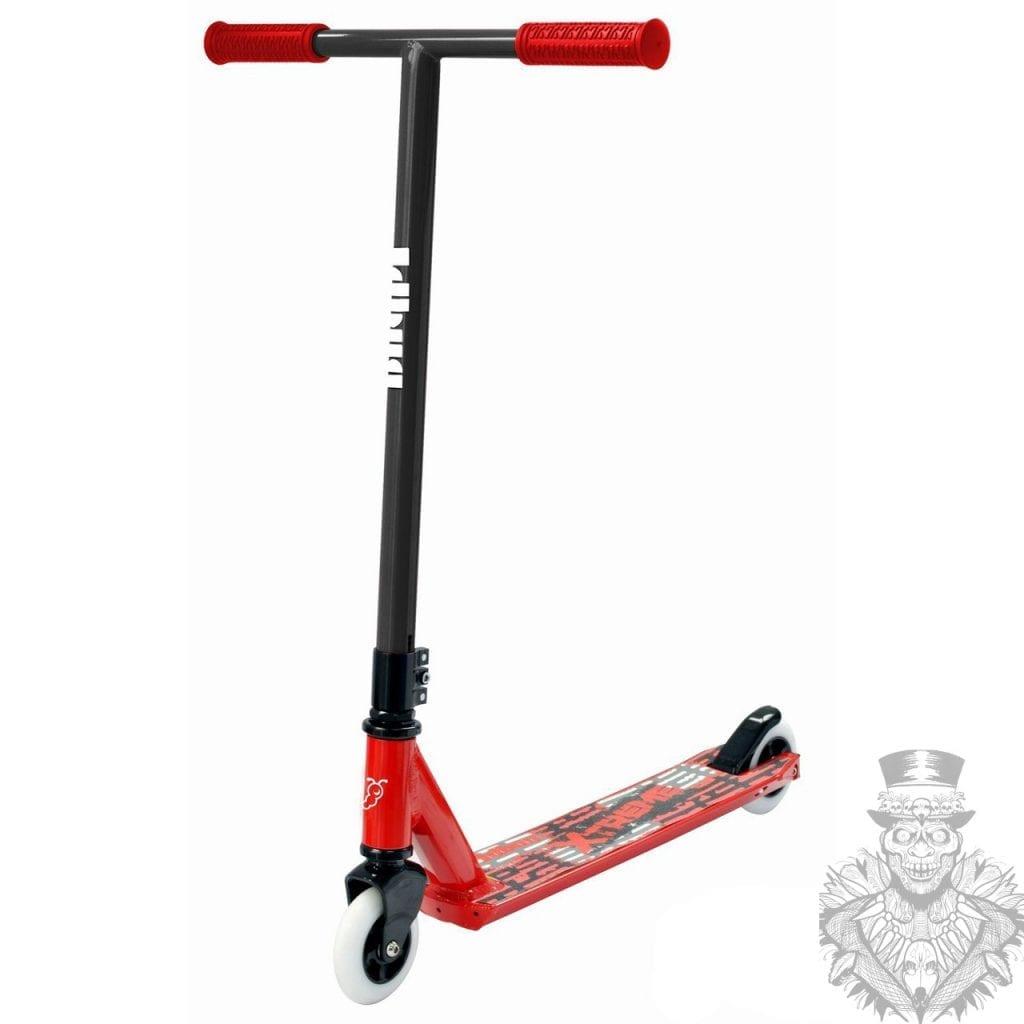 jd bug novato pro stunt scooter \u2013 red black \u2013 sk8 or diejd bug novato pro stunt scooter \u2013 red black